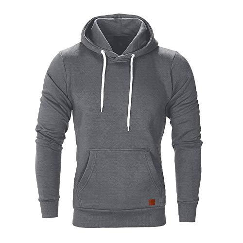Herren Lange Ärmel Herbst Winter Lässiges Sweatshirt KapuzenoberteileBluse Trainingsanzüge Männer Hoodies Sweatshirt