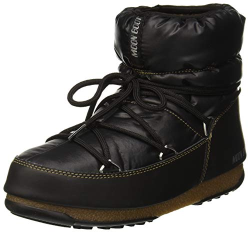 Moon-boot W.E. Low WP, Bottes de Neige Femme, Noir (Nero-Bronzo 001), 36 EU