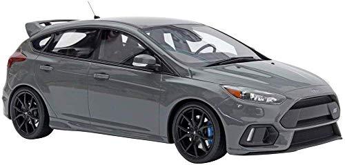 Modelo de Auto 01:18 Ford Focus RS Focus 2017 OT779 Resina Modelo de Coche de niño de Regalo/niña (Color : Gray, Size : 27cm*11cm*9cm)