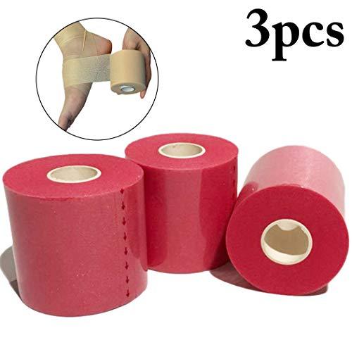 Fansport Sport Pre Wrap Athletic Tape Atmungsaktive Elastische Sportbandage Wrap Underwrap