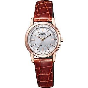 [シチズン] 腕時計 エクシード エコ・ドライブ 薄型 EX2072-16A ブラウン