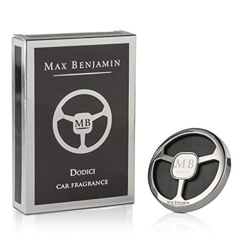 Max Benjamin Autoparfum, Roestvrij Staal, Zwart, 150 ml
