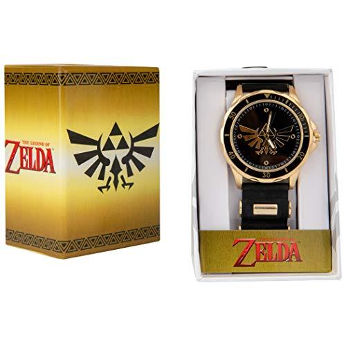 Zelda Triforce Armbanduhr mit Gummiband