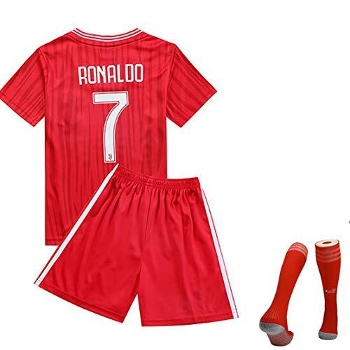 MJAD Brazilië team wereldkampioenschap voetbal uniform pak, Griezmann nr. 7 heren korte mouwen wedstrijdpak nr. 11 trainingspak Salah kinderen tricot uniformen modern 16 EU rood