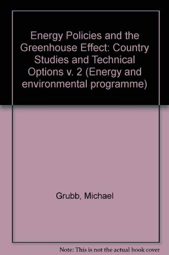 Energy Policies and the Greenhouse Effect: Country Studies and Technical Options