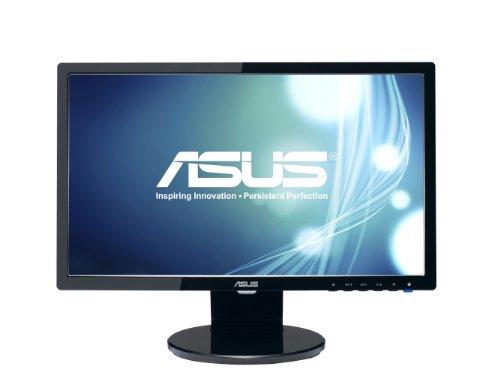 """ASUS VE198T 19"""" WXGA+ 1440x900 DVI VGA Back-lit LED Monitor,Black"""