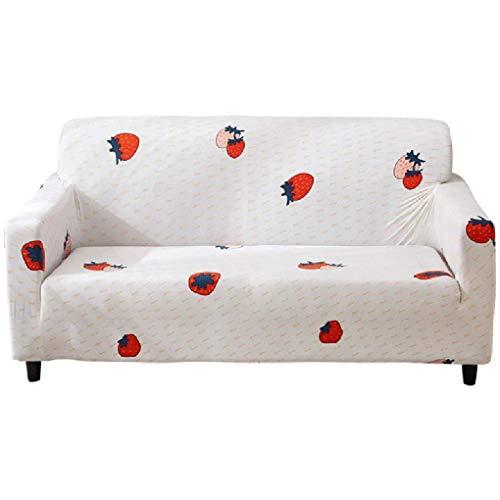 Wyxy Funda para sofá Todo Incluido Universal Universal Four Seasons Tela Cojín para sofá Funda Completa Toalla Simple Moderno (Color: Blanco, Tamaño: 3 sitzer)