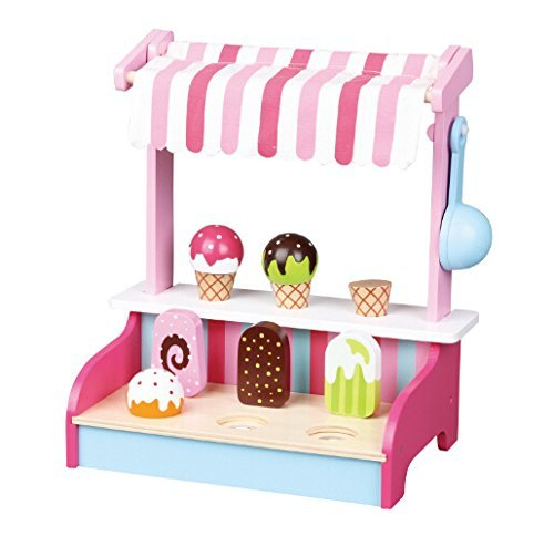 New Classic Toys Ice Cream Shop Playset by New Classic Toys