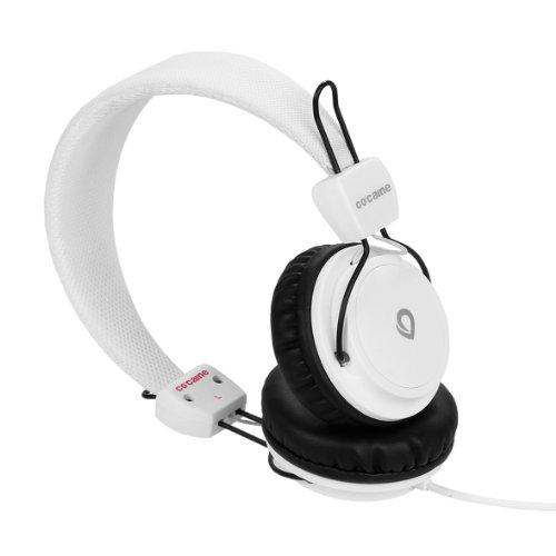 co-caine 71402 - Auriculares de diadema abiertos, blanco (blanco)