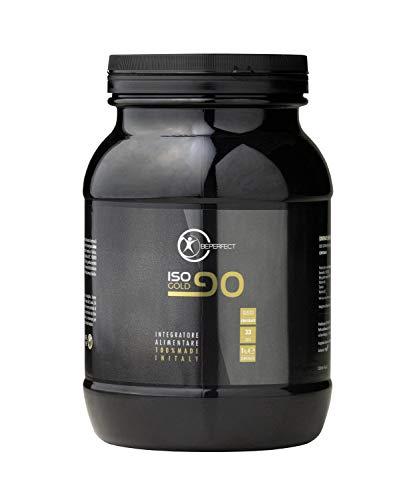 Be Perfect - ISO 90 GOLD - Whey Protein Al Cioccolato - 24 Grammi Di Proteine Del Siero Del Latte Isolate - Aumento Massa Muscolare - Made in Italy - Senza Glutine - 1 kg