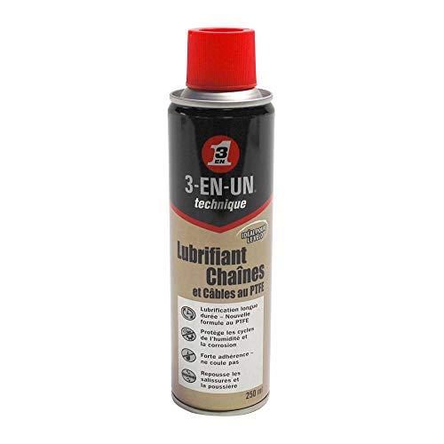 Motodak smeermiddel 3-in-1 PTFE voor ketting en kabel (aerosol 250 ml)