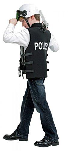 Kostüm für Kinder Polizei-Weste Gr.128