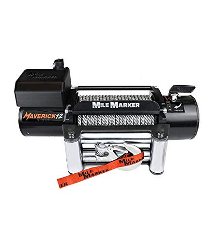 Why Choose Mile Marker 76-6012 Maverick 12, 12000 lb Electric Winch
