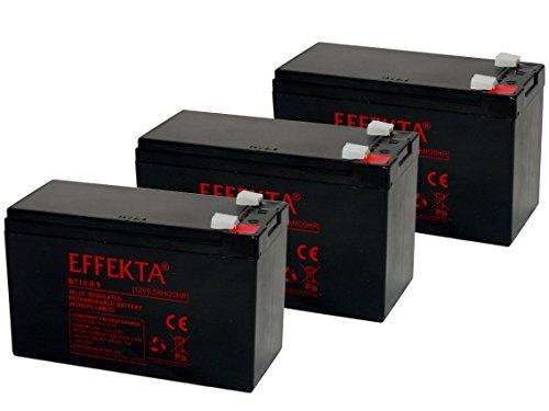 Akku Batterie E-Motobike E-Trial OSET 16.0 36V 3 x 12V 9,5Ah wie 8,5Ah