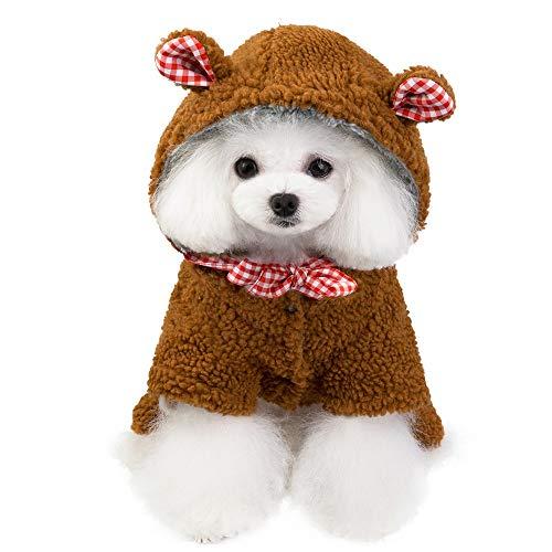 Huisdierjack, warm, teddyjack, herfst, voor honden, katten, beer en winter, met vier voeten, katoenen jas, sportkleding, wintersport, warm