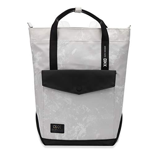 WindTook Damen Rucksack Daypack Schulrucksack Kein, für Schule Büro Alltag, 27 x 37 x 10 cm, Grau