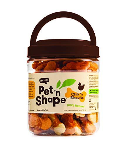 1-Lb Pet 'n Shape Chik 'n Biscuits Chicken Wrapped Dog Treats $4.30 w/ S&S & More + F/S w/ Amazon Prime or Orders $25+
