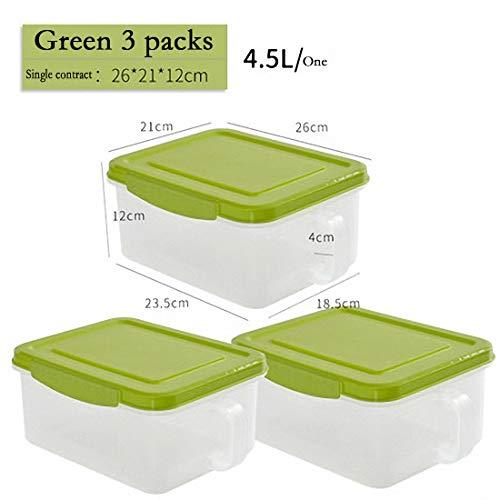Pavilion Kitchen Recipiente, Recipientes para Alimentos con Tapa Sin BPA, Apta para...