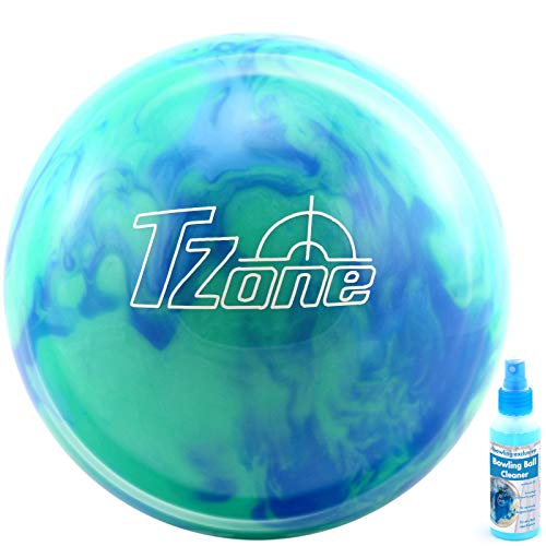 bowling-exclusive Bowling Ball Brunswick TZone Caribbean Blue Ball Cleaner (14 lbs)
