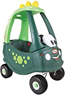 Little Tikes Dino Cozy Coupe Car. Kids Ride-On, Foot to Floor Slider, Mini Vehicle Push Car With Rea...