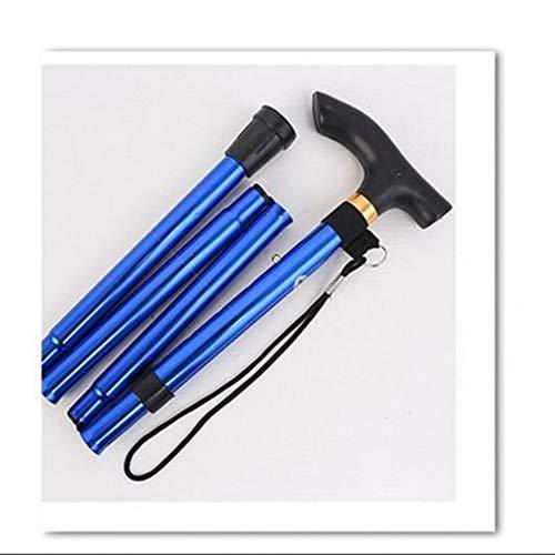 Wandelstok, opvouwbaar, inklapbaar, met comfortabele handvatten voor mannen en vrouwen - Lichtgewicht wandelstok,D