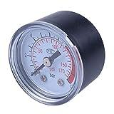 toogoo(r) 0-12bar 0-170psi 10mm filettatura gas air pump pressure gauge compressore manometro