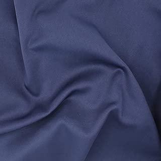 Telio Scuba Neoprene Poly Spandex Knit Fabric, Navy, Fabric By The Yard