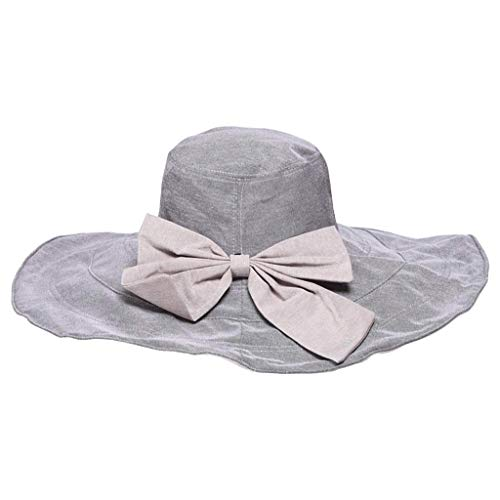 YWSZJ Sombreros de Sol for Mujer Gorro for el Sol Que se Puede empacar Sombrero Ancho Protección UV for el Sol Sombrero de Playa (Color : A)