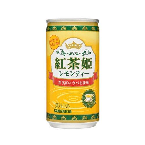 紅茶姫 レモンティー 190g×30本 缶