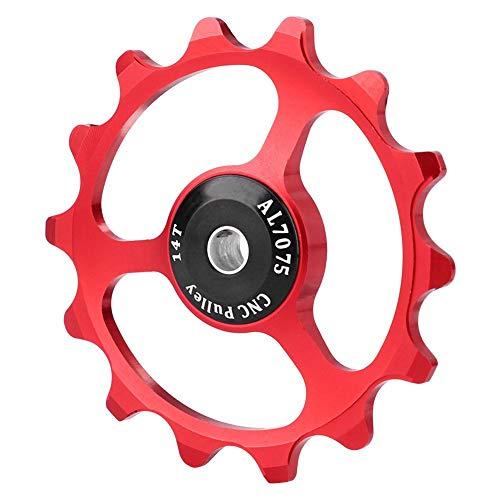Outbit Desviador de Bicicleta Ligero de Alta Resistencia 14T Bicicleta de montaña...