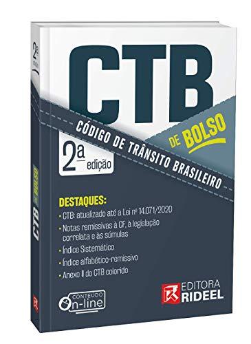Código De Trânsito Brasileiro De Bolso