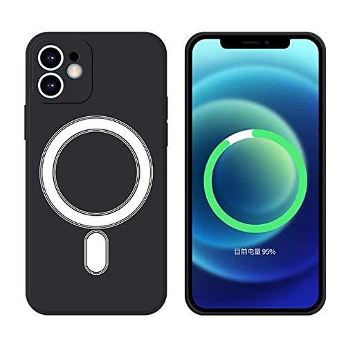 HiChili Custodia Magnete in Silicone per iPhone XS/X Cerchio