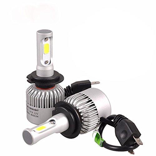 ZGMA 2pcs Ampoules électriques 36W COB 2 Lampe Frontale For Toyota Tous les modèles/Camry/Corolla 2017/2016/2015 White Spot 2 H7