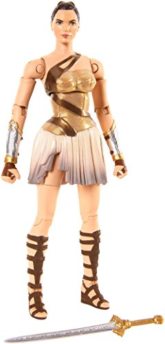Mattel FDF47 - DC Multiverse Wonder Woman Movie Collector-Figur Diana, Aktionsspielzeug, 15 cm