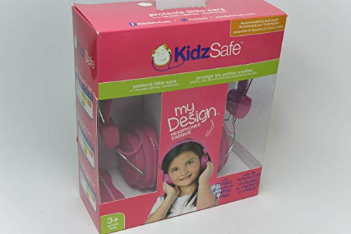 KidzSafe KS-2013-BGDIY-ROH koptelefoon voor kinderen, roze