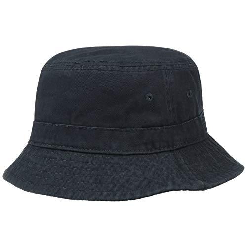 Lipodo Lipodo Schlapphut Damen/Herren - Hut aus 100% Baumwolle - Stoffhut S/M (54-57 cm) - Sonnenhut Blau, Grau, Beige - Fischerhut knautschbar