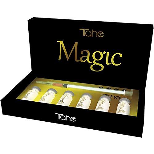 Tahe Magic Bx Rellenador Capilar Brillo, Textura y Tratamiento para Todo Tipo de Cabellos 6x10 ml