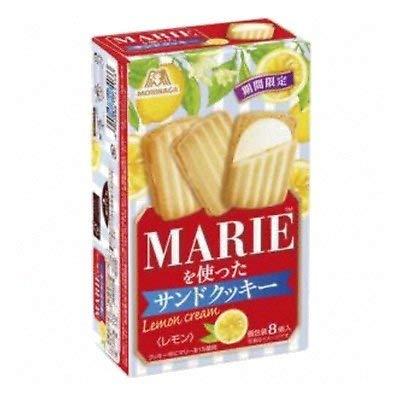 森永製菓 マリーを使ったサンドクッキー<レモン> 8コ入りx5個
