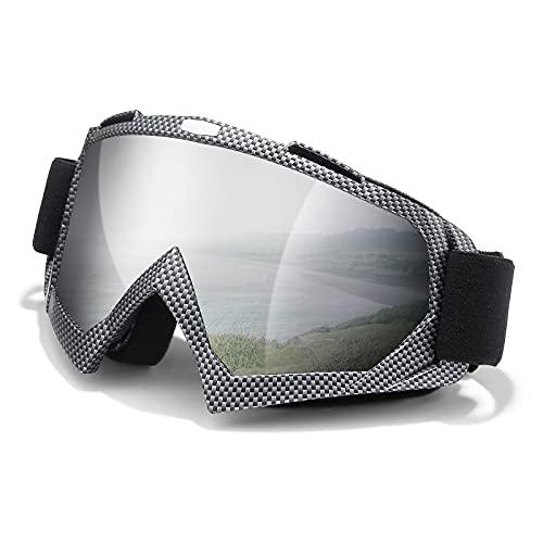 Ski Goggles, Snowboard Goggles, UV Protective Windproof Adjustable