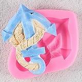 GJEFEGS Molde de Silicona para Herramientas de decoración de Pasteles de Pasta de azúcar Suger Paste Cupcake Candy Moldes de Chocolate Moldes para Hornear de Cocina