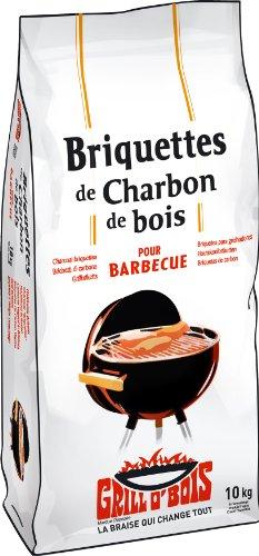 Grill O'Bois 522 Briquette de charbon de bois 10 kg