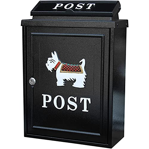 Briefkästen, Wandbriefkasten, Regendicht, Wandbriefkasten, Wandbriefkasten, Wandbriefkasten, groß, Premium-Wandbriefkasten (Farbe: E)