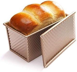 Lady of Luck Moule à Toast, Moules à Pain Rectangulaire Antiadhésif Idéal pour la Cuisson à la Maison Gâteau au Pain Grill...
