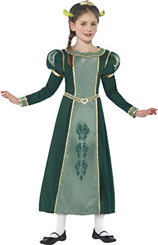 Smiffys Shrek Princess Fiona Costume Medium Age 7-9 Green