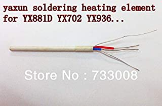 Tool Parts 3pcs 50W 220V Soldering Iron Ceramic Core Heating Element for yaxun soldering & rework station