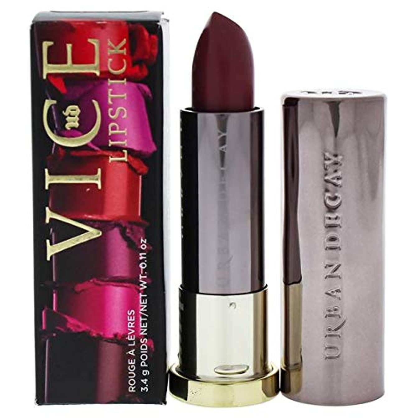 研磨剤バイナリ変形アーバンディケイ Vice Lipstick - # Crisis (Cream) 3.4g/0.11oz並行輸入品