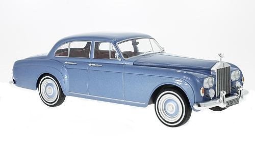 Rolls Royce Silver Cloud III Flying Spur Mulliner 1965 schwarz Modellauto 1:18
