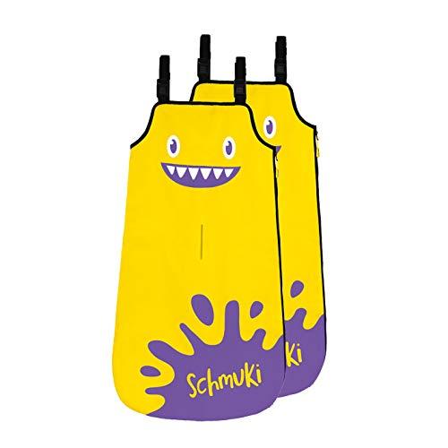 Schmuki Kinderschmutzsack | Fußsack für Kindersitz, Buggy und Kinderwagen - so bleibt auch nach dem Spielen das Auto sauber | geeignet für Mädchen und Jungen im Alter von 3 - 6 Jahren (Richtwert)