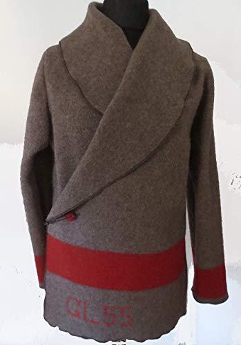 Jacke aus der Schweizer Militär/Armee Decke