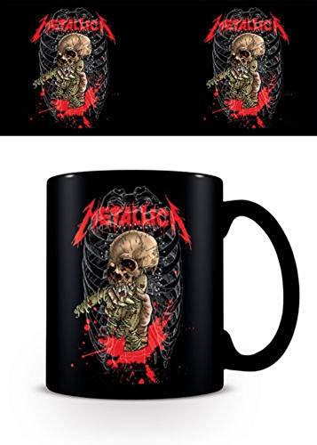 for-collectors-only Metallica Tasse Alien Birth Kaffeebecher Skeleton Kaffeetasse Mug Becher